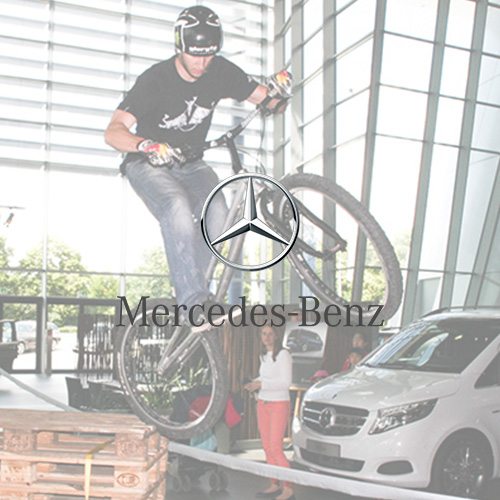 Trial Bike Show - Mercedes Benz
