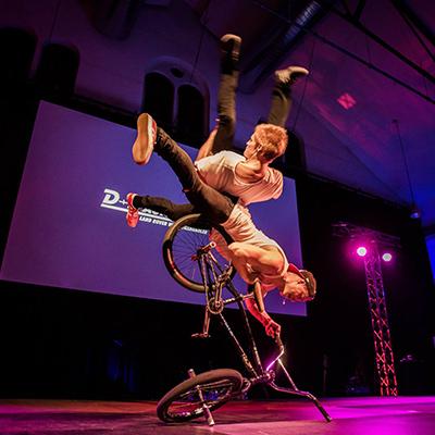 Tricking & BMX Show der Superlative für Veranstaltungen.