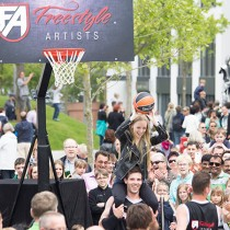 Freestyle-Artists_Basketballshow_Volkswagen Autostadt