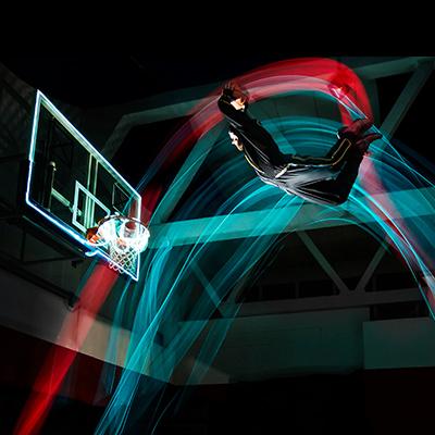 LED Show Basketball der Superlative für Veranstaltungen.