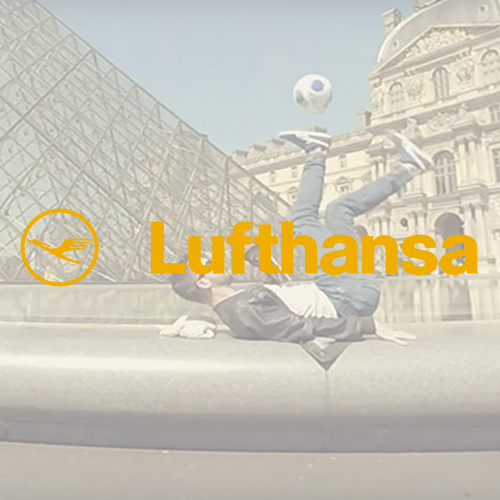 Football Freestyler - Lufthansa