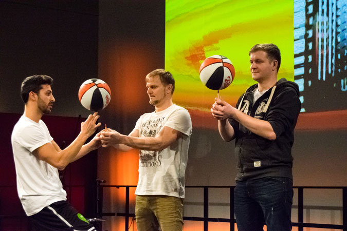 Basketball Freestyler - Messeshows ITB 02