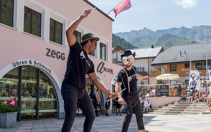 Diabolo Show - Schweiz