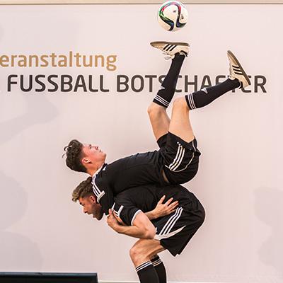 Fussball Show Duo als Show Act für Events!