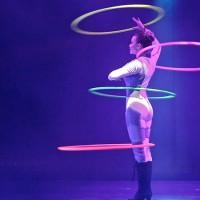 Hula Hoop Show der Superlative für Veranstaltungen.