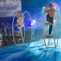 Wheel Show der Superlative für Veranstaltungen.