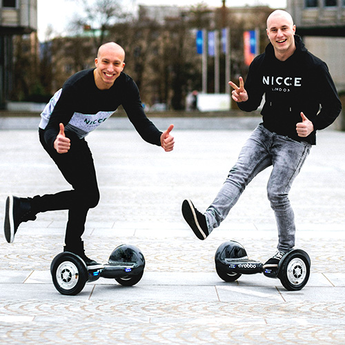 Hoverboard Akrobatik für Events