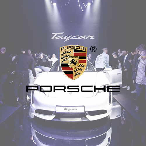 LED Show der Superlative bei Porsche Produktpräsentation.