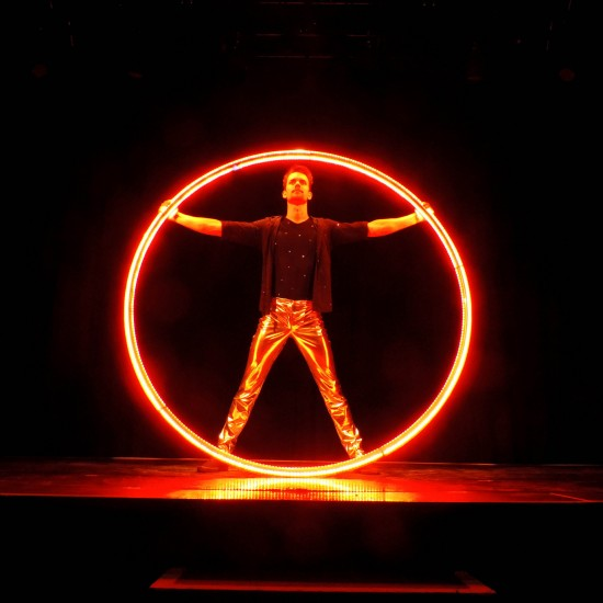LED CYR WHEEL SHOW