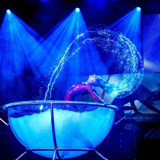 Waterbowl Akrobatik Show